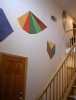 foyer & staircase shapes mural